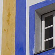 The Blue Framed Window Art Print