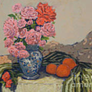 The Blue Vase Art Print