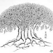 The Boddhi Tree Art Print
