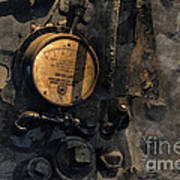 The Boiler Gauge Art Print