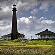 The Bolivar Lighthouse Art Print