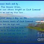 The Bonnie Banks Of Loch Lomond Art Print