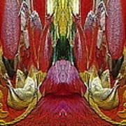 The Bouquet Unleashed 24 Art Print