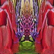 The Bouquet Unleashed 42 Art Print