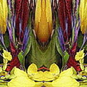 The Bouquet Unleashed 83 Art Print