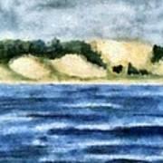 The Bowl - Dunes Study Art Print