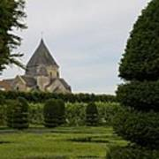 The Boxwood Garden - Villandry Art Print