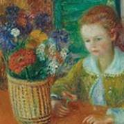 The Breakfast Porch Art Print by William James Glackens