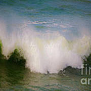 The Breaking Of A Wave ... Art Print