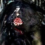 The Bride In Black Art Print
