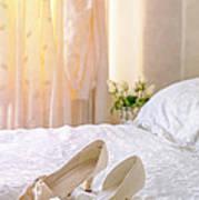 The Brides Sandals Art Print