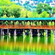 The Bridge 16 Art Print