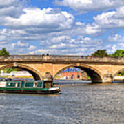 The Bridge At Henley-on-thames Art Print