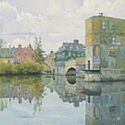 The Bridge At Saint Ives Art Print