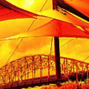 The Bridge On Mars Art Print