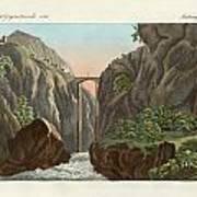 The Bridge To Ronda Art Print