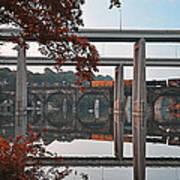 The Bridges At East Falls Art Print