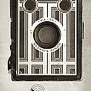 The Brownie Junior Six-20 Camera Art Print