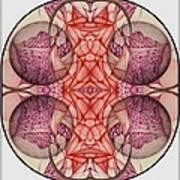The Bubble Burst A Digitized Detail Art Print