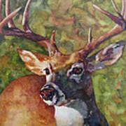 The Buck Stops Here Art Print
