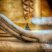 The Buddhas Hand Art Print
