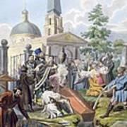 The Burial, 1812-13 Art Print