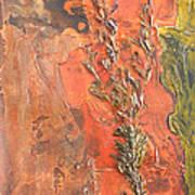 The Burn - Panel I Art Print