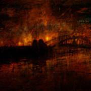 The Burning Of Sydney Art Print