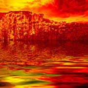 The Burning Zone Print by Wendy J St Christopher