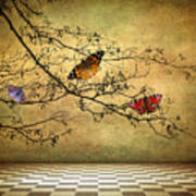 The Butterfly Room Art Print