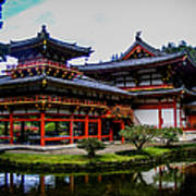 The Byodo-in Temple Art Print