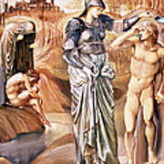 The Call Of Perseus, C.1876 Art Print