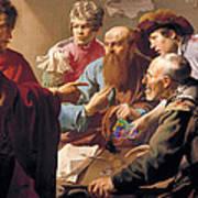 The Calling Of St Matthew  Art Print