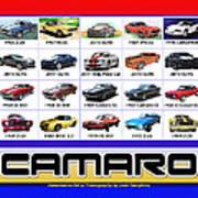 The Camaro Poster Art Print