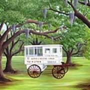 The Candy Cart Art Print