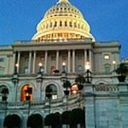 The Capitol At Dusk Art Print