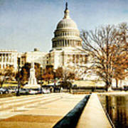 The Capitol Building Art Print