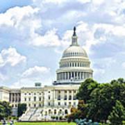The Capitol Building Art Print