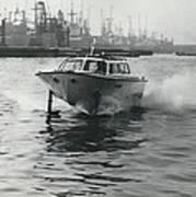 The �captain�s Barge� - 1963 Version Art Print