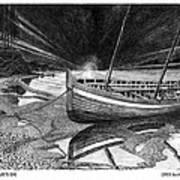 Captain Vancouvers Gig Art Print