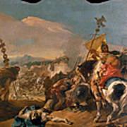 The Capture Of Carthage Art Print