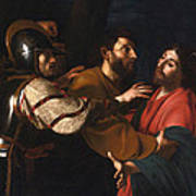 The Capture Of Christ Art Print