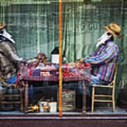 The Card Players Victor Colorado Img 8665 Art Print