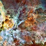 The Carina Nebula Art Print