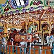 The Carousel Ride Art Print
