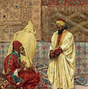 The Carpet Bazaar Art Print