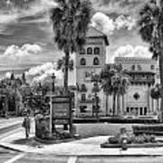 The Casa Monica Art Print