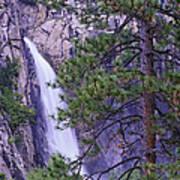 The Cascades Yosemite Np Art Print