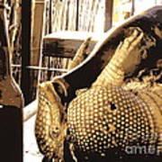 The Cask Of Armadillo Art Print