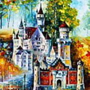 The Castle Of 4 Seasons Art Print
